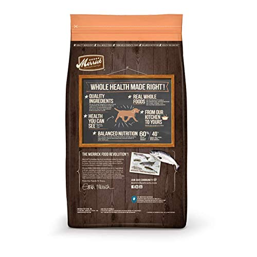 Merrick Grain Free Dry Dog Food Real Salmon & Sweet Potato Recipe - 10 lb. Bag