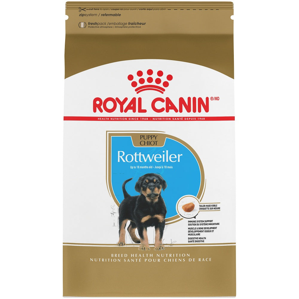 Royal Canin Breed Health Nutrition Rottweiler Puppy Recipe Dry Dog Food