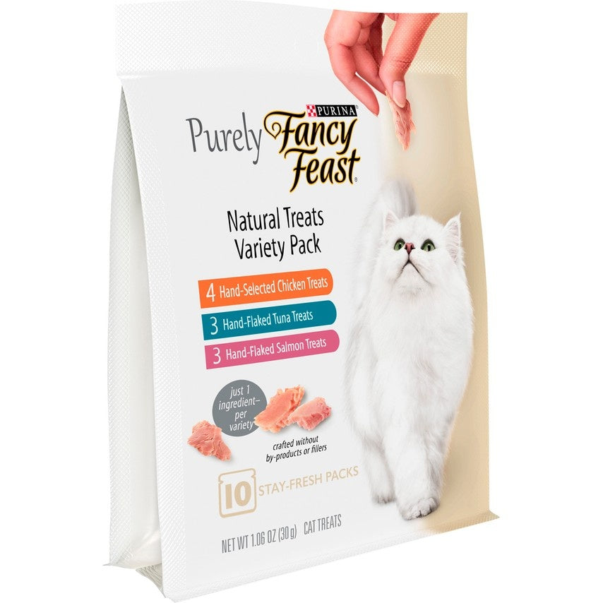 Fancy Feast Purely Natural Treats Variety Pack Cat Treats