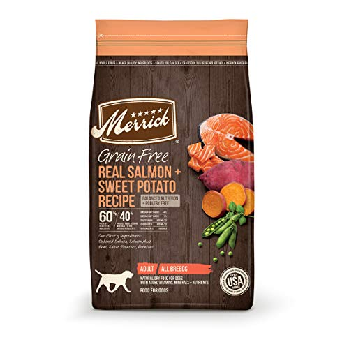 Merrick Grain Free Dry Dog Food Real Salmon & Sweet Potato Recipe - 22 lb. Bag