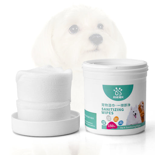 Wet wipes for pets