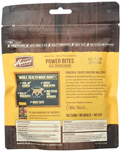 Merrick - Dog Power Bites Chicken Recipe 6/6oz