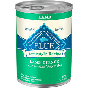 Blue Buffalo Homestyle Recipe Lamb Dinner with Garden Vegetables Canned Dog Food
