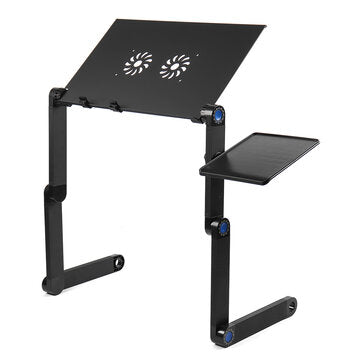 Folding Table Stand for Notebook Laptop with Mouse Holder