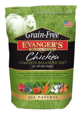 Evanger's Chicken with Sweet Potato & Pumpkin Recipe Grain-Free Dry Dog Food