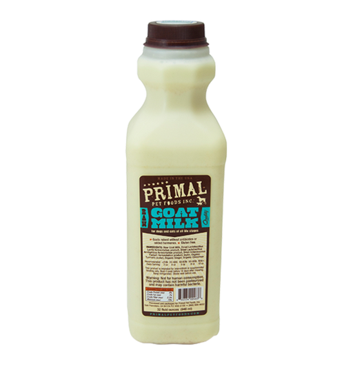 PRIMAL PET RAW FROZEN GOATS MILK