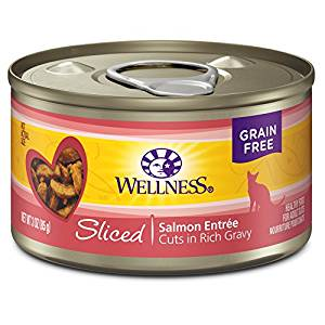Sliced Salmon Entree Grain-Free Canned Cat Food