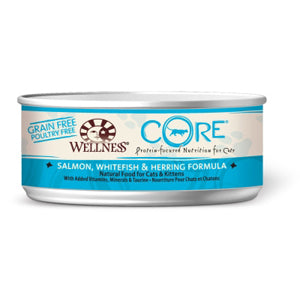 Grain-Free Salmon, Whitefish & Herring Formula Canned Kitten & Cat Food