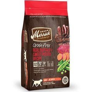 Grain Free Buffalo Dry Dog Food