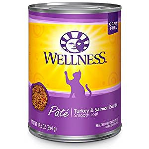 Wellness Complete Health Turkey & Salmon Formula Grain-Free Canned Cat Food