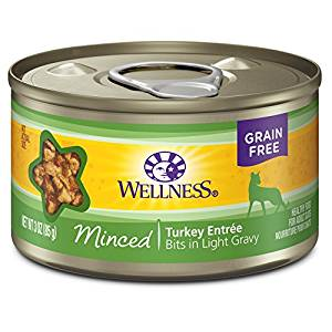 Minced Turkey Entree Grain-Free Canned Cat Food