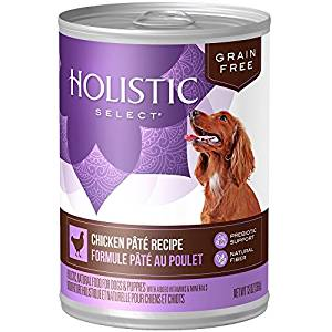 Holistic Select Chicken Pate Recipe Grain-Free Canned Dog Food