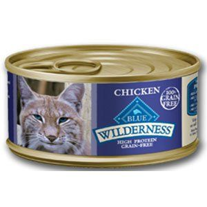 Blue Buffalo Wilderness Chicken Grain-Free Canned Cat Food