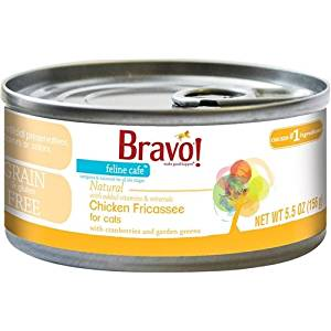 Bravo! Feline Cafe Chicken Fricassee Grain-Free Canned Cat Food