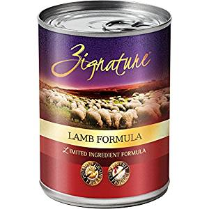Zignature Lamb Limited Ingredient Formula Grain-Free Canned Dog Food