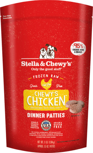 Stella & Chewy's Frozen Chicken Dinner For Dogs