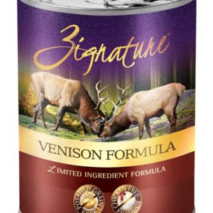 Zignature Venison Limited Ingredient Formula Grain-Free Canned Dog Food