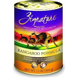 Zignature Kangaroo Limited Ingredient Formula Grain-Free Canned Dog Food