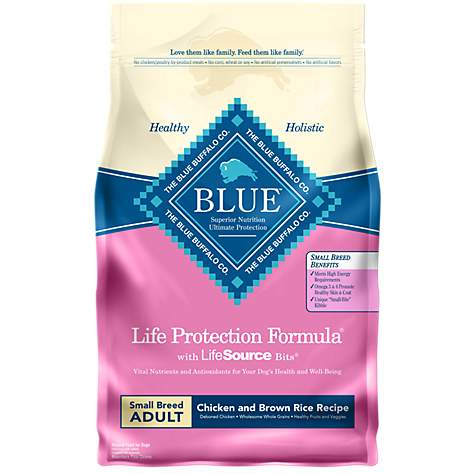 Blue Buffalo Life Protection Formula Small Breed Adult Chicken & Brown Rice Recipe Dry Dog Food