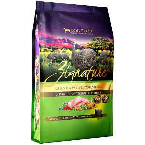 Zignature Guinea Fowl Limited Ingredient Formula Grain-Free Dry Dog Food