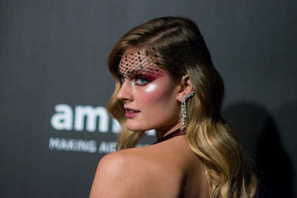 Constance Jablonski in Messika at the Naked Heart and amfAR Fabulous Fun