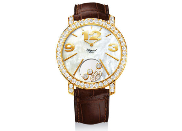 Chopard watches Happy Diamonds Happy Time