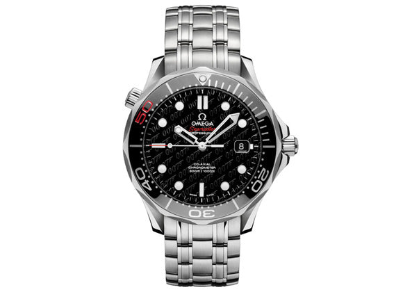 Omega Seamaster Diver 300M James Bond 50 years - Crystal group