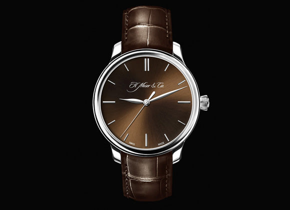 H. Moser & Cie Center Seconds - Crystal group