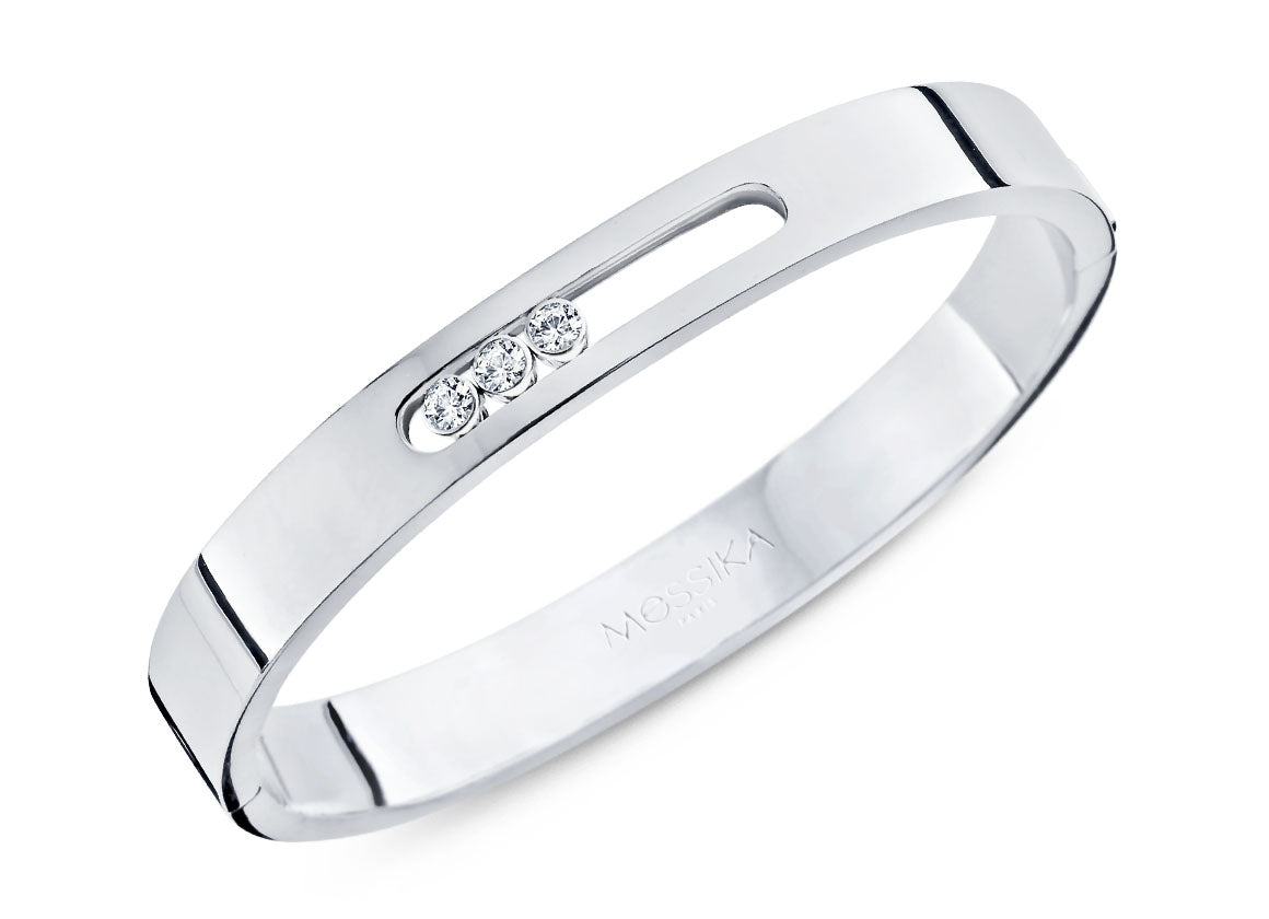 Messika Move Joaillerie bangle - Crystal group