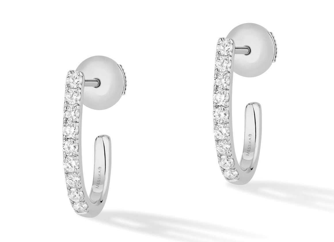 Messika Gatsby earrings - Crystal group