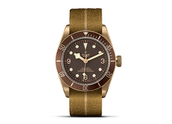 Tudor Heritage Black Bay Bronze - Crystal group