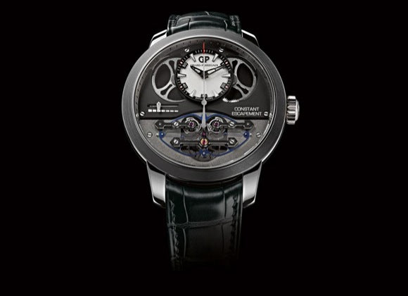 Girard-Perregaux Haute Horlogerie Constant Force Escapement - Crystal group