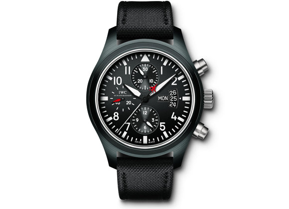 IWC Часы Pilot's Watch Chronograph TOP GUN - Crystal group