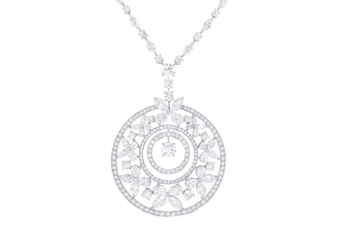 Graff Butterfly Medallion - Crystal group