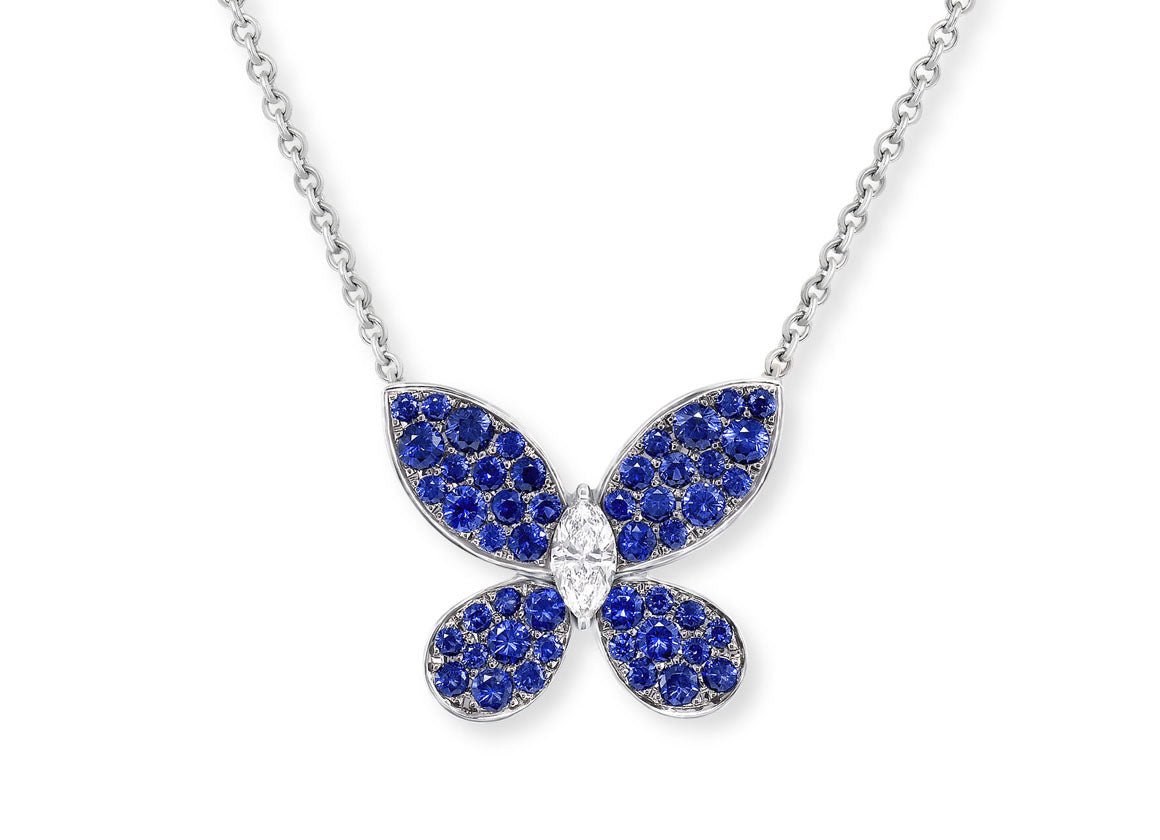 Graff Pave Butterfly - Crystal group