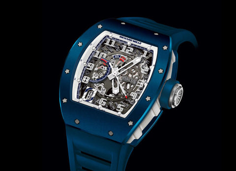 Richard Mille RM 030 Blue Ceramic EMEA Limited Edition - Crystal group