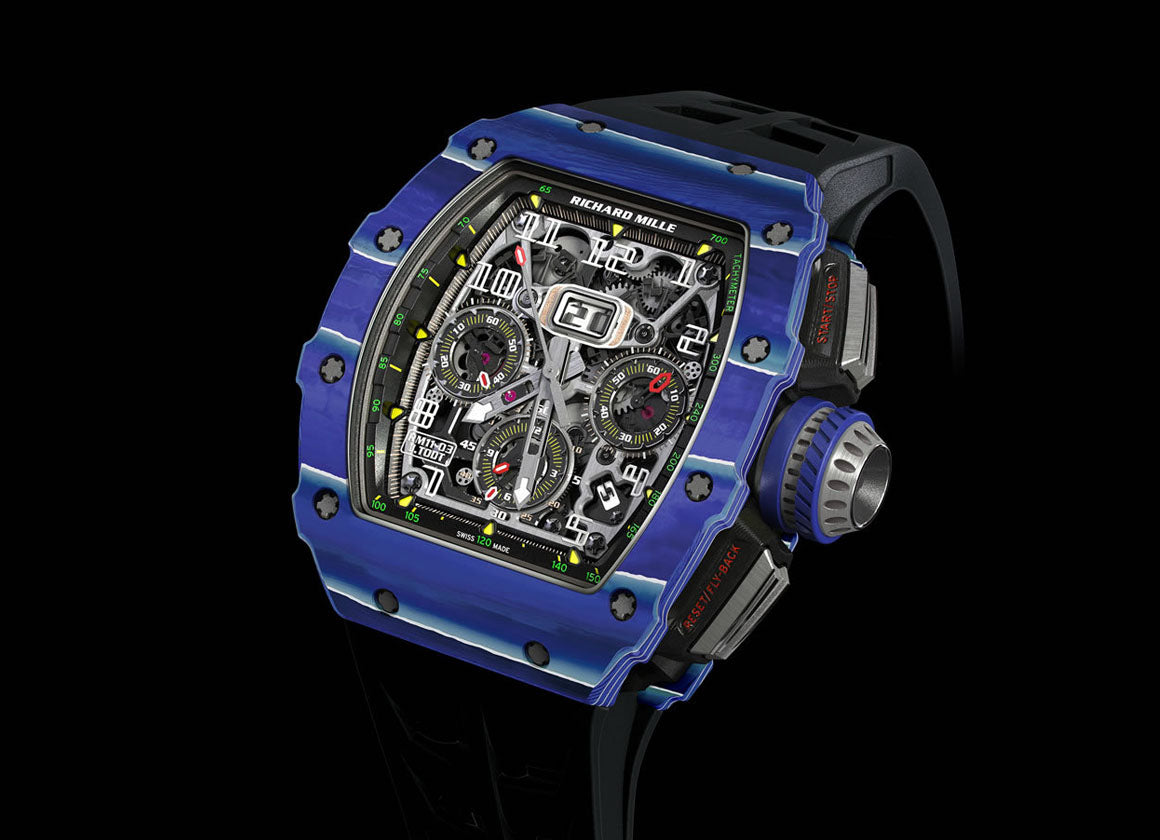 Richard Mille RM 11-03 Automatic Flyback Chronograph TPT Quartz Jean Todt - Crystal group