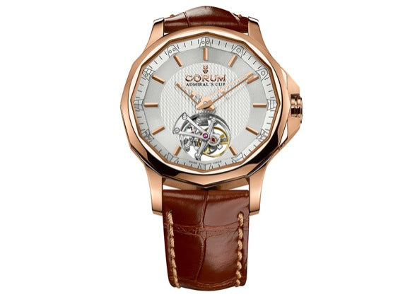 Corum Admiral's Cup Legend 42 Tourbillon Micro-Rotor - Crystal group
