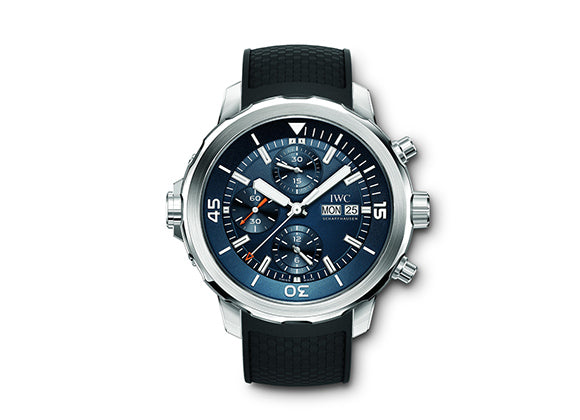 "IWC Часы Aquatimer Chronograph ""Expedition Jacques-Yves Cousteau"" - Crystal group"
