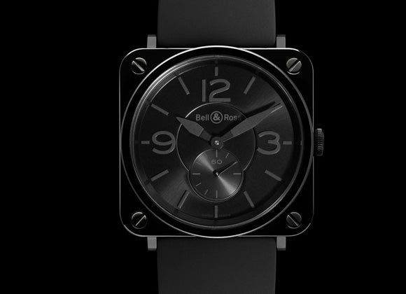 Bell&Ross Aviation Black Ceramic Phantom - Crystal group