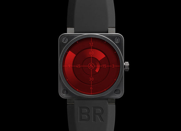 Bell&Ross Aviation Red Radar - Crystal group