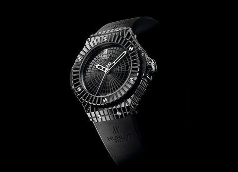 Hublot Big Bang 41 mm Black Caviar - Crystal group