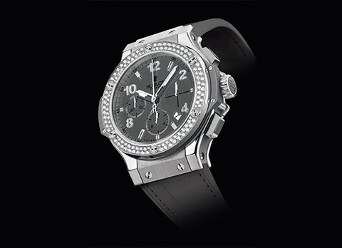 Hublot Big Bang 41 mm Earl Grey Diamonds - Crystal group