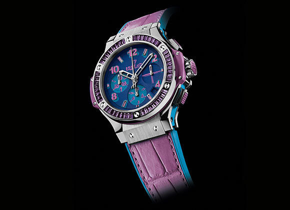 Hublot Big Bang 41 mm Pop Art Steel Purple - Crystal group