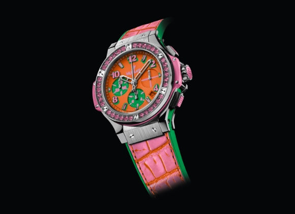 Hublot Big Bang 41 mm Pop Art Steel Rose - Crystal group
