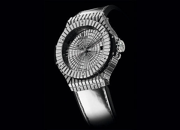 Hublot Big Bang 41 mm Steel Caviar - Crystal group