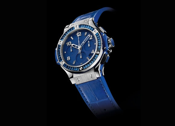 Hublot Big Bang 41 mm Tutti Frutti Steel Dark Blue Carat - Crystal group