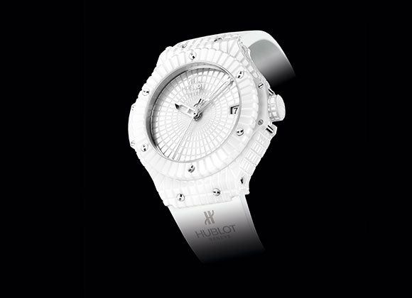 Hublot Big Bang 41 mm White Caviar - Crystal group