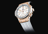 Hublot Big Bang 41 mm Gold White Diamonds - Crystal group