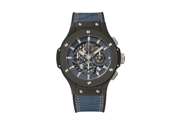 Hublot Big Bang 44 mm Aero Bang Denim - Crystal group